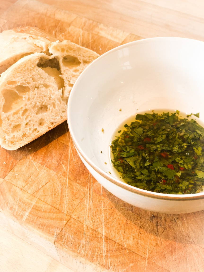 Add a little bit of zing to your BBQ – Chimichurri sauce.
